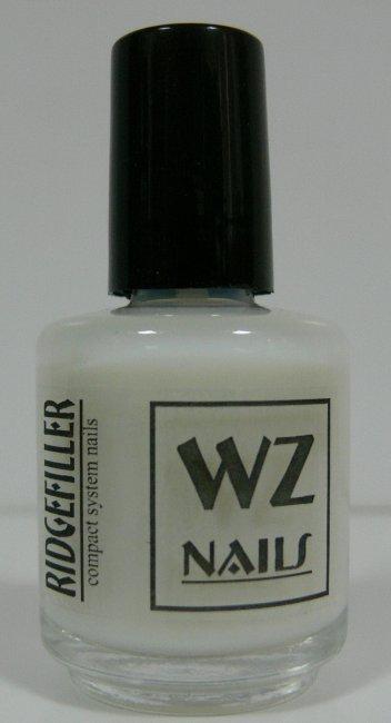 Podkladový lak bílý Ridgefiller White 15 ml - Přípravky k péči o nehty a k manikúře Přípravky k péči o nehty a k manikúře WZ nails
