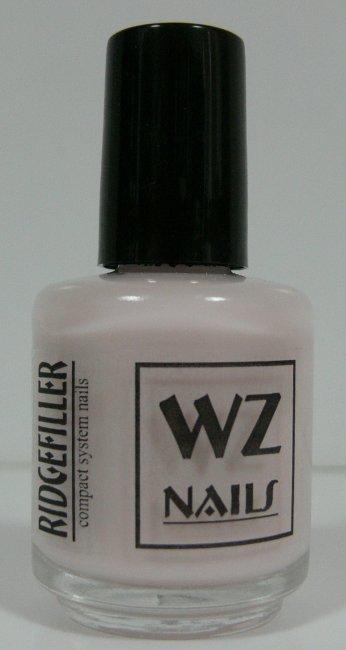 Podkladový lak růžový Ridgefiller Rose 15 ml - Přípravky k péči o nehty a k manikúře Přípravky k péči o nehty a k manikúře WZ nails