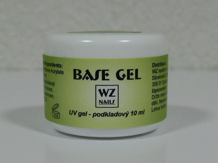 UV gel podkladový Base gel 10 ml - UV gely UV gely WZ NAILS