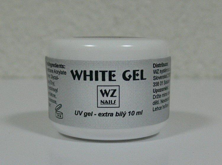 UV gel na francouzskou manikúru White extra gel 10 ml - UV gely UV gely WZ NAILS
