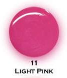 UV gel barevný perleťový Light Pink 5 ml - Barevné UV gely Perleťové barevné UV gely