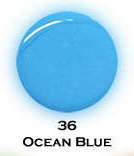 UV gel barevný perleťový Ocean Blue 5 ml - Barevné UV gely Perleťové barevné UV gely