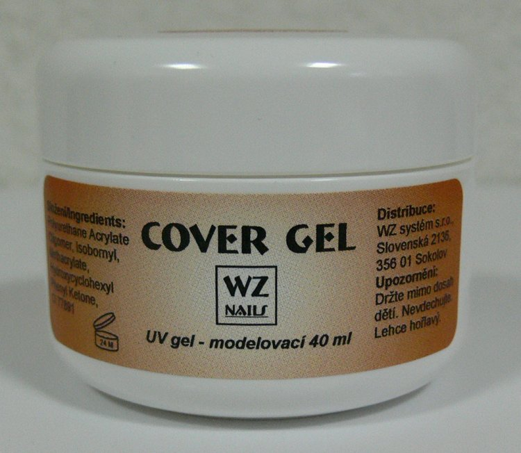 UV gel modelovací kamufláž Cover gel 40 ml