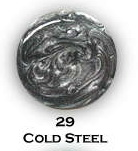 UV gel barevný perleťový Cold Steel 5 ml - Péče o ruce Barevné UV gely Perleťové barevné UV gely