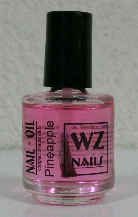 Nehtový olej s vůní ananasu Nail Oil Pineapple 15 ml - Péče o ruce Přípravky k péči o nehty a k manikúře Nehtové oleje k péči o nehty a k manikúře WZ nails