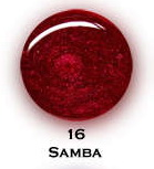 UV gel barevný perleťový Samba 5 ml