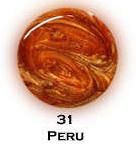 UV gel barevný perleťový Peru 5 ml - Barevné UV gely Perleťové barevné UV gely