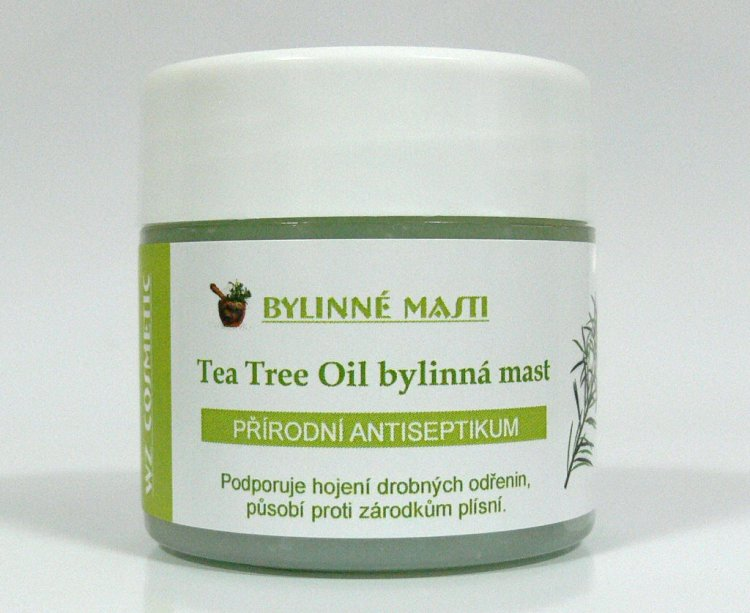 Bylinná mast s Tea Tree Oil 150 ml