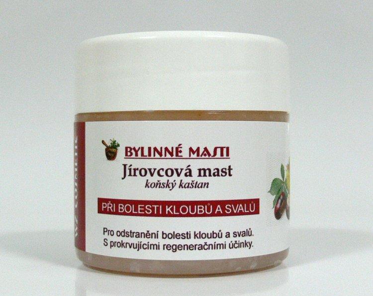 Bylinná mast jírovcová 150 ml - Kosmetika WZ cosmetic Bylinné masti a vazelíny