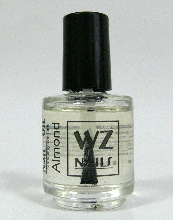 Nehtový olej s vůní mandlí Nail Oil Almond 15 ml - Péče o ruce Přípravky k péči o nehty a k manikúře Nehtové oleje k péči o nehty a k manikúře WZ nails