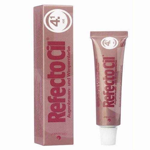 RefectoCil Barva na řasy a obočí červená - 15ml - Péče o ruce Barvy na řasy a na obočí