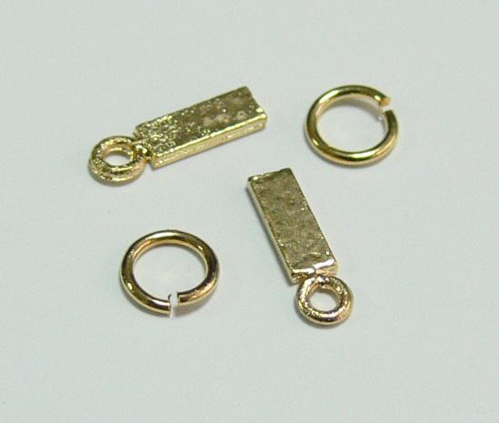 Piercing 590-02 ozdoby na nehty 2 ks - Zdobící nálepky a obtisky na nehty Piercing na nehty