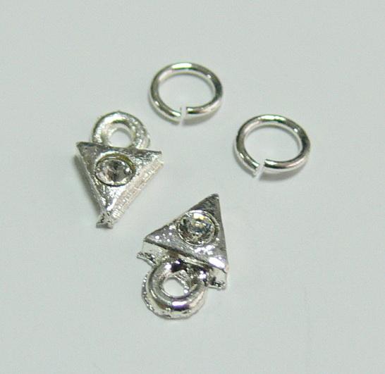 Piercing 590-03 ozdoby na nehty 2 ks