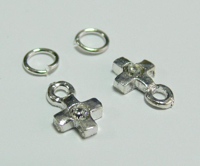 Piercing 590-05 ozdoby na nehty 2 ks