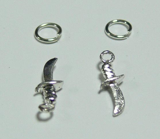 Piercing 590-09 ozdoby na nehty 2 ks