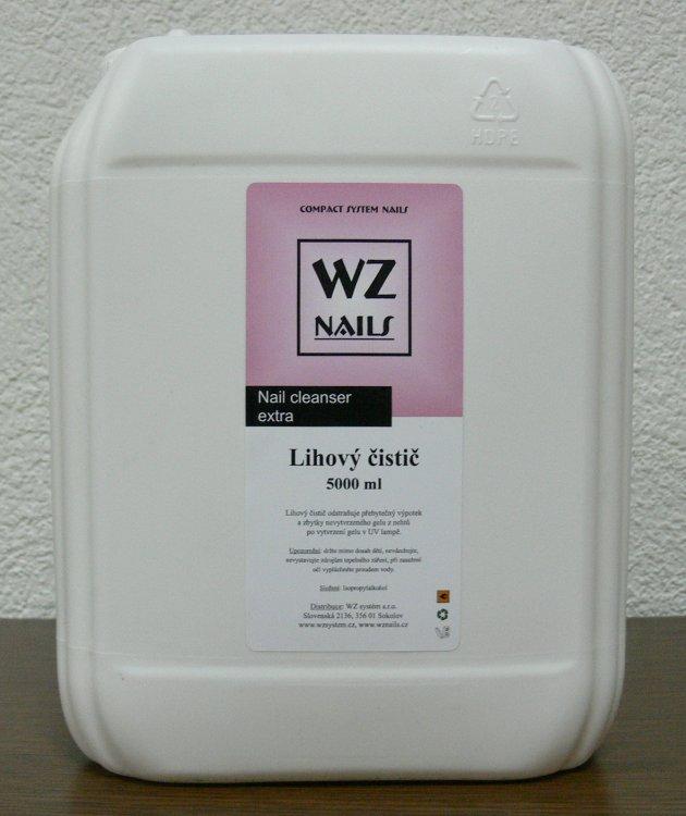 Lihový čistič ke stírání gelového výpotku 5000 ml - Péče o ruce Čističe a příslušenství