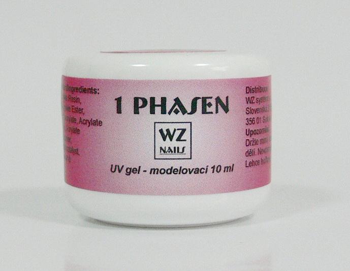 UV gel modelovací jednofázový 10 ml - UV gely UV gely WZ NAILS