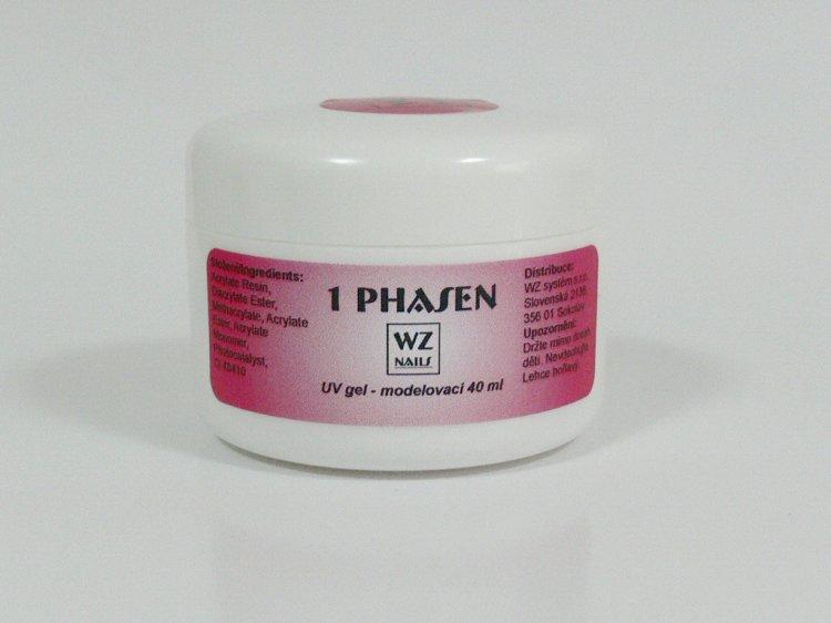 UV gel modelovací jednofázový 40 ml - UV gely UV gely WZ NAILS