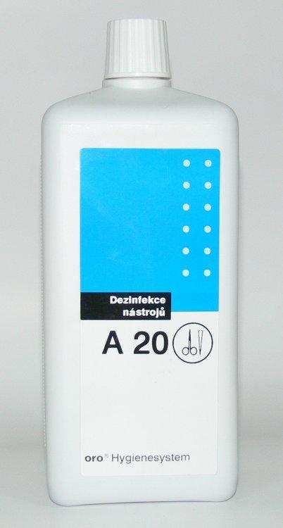 Dezinfekce na nástroje A20 ( 2 % ) 1 litr
