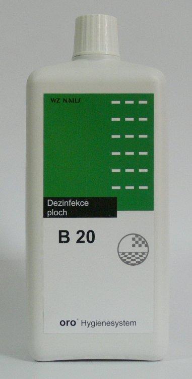 Dezinfekce na plochy B20 ( 1 % ) 1 litr - Dezinfekce a hygiena Dezinfekce na nástroje a plochy