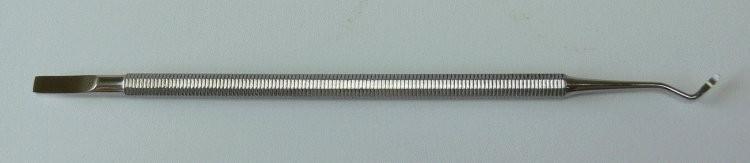Exkavátor s hokejkou a dlátkem - Kleště a nůžky na nehty a kůži pro manikúru a pedikúru, pinzety, pilníky, atd. Ostatní nástroje a příslušenství pro pedikúru