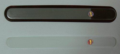 Pilník na nehty skleněný oboustranný 200/3 mm čirý - Péče o ruce Leštičky, leštící bloky a pilníky na nehty pro nehtovou modeláž a manikúru Skleněné a barevné pilníky na manikúru Jednobarevné čiré