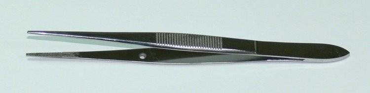 Pinzeta anatomická jemná 10 cm Grafe