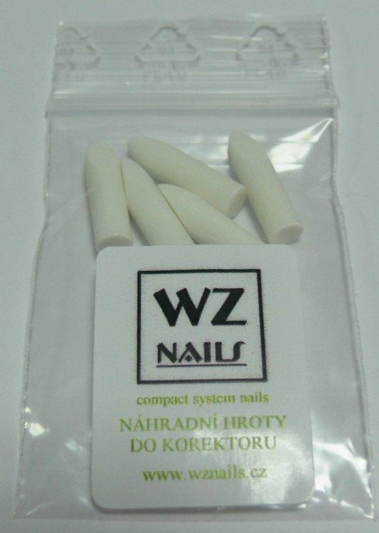Náhradní hroty WZ nails do odlakovače ve fixu FS (balení 5 ks) - Laky na nehty Sušiče laku a příslušenství