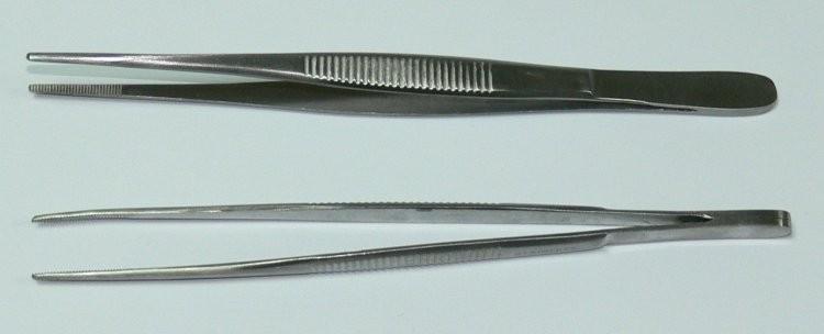 Pinzeta anatomická jemná 13 cm - Chirurgické nástroje, pinzety Pinzety anatomické
