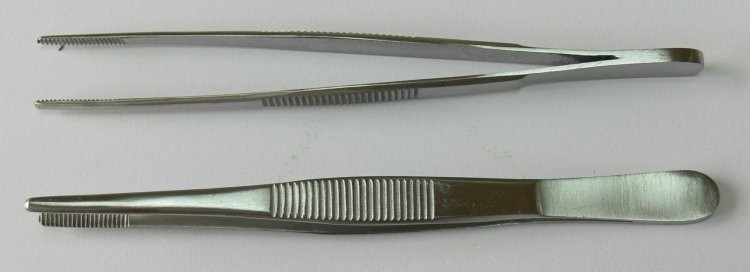 Pinzeta anatomická 18 cm - Chirurgické nástroje, pinzety Pinzety anatomické