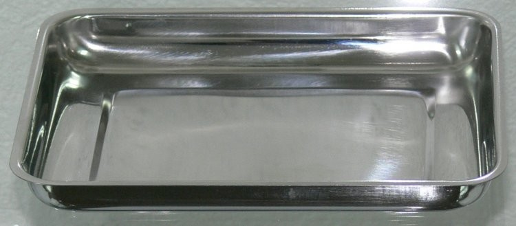 Miska na nástroje, tácek, nerez 21x16x2, 5 cm - Péče o ruce Nerezové výrobky pro pedikúru