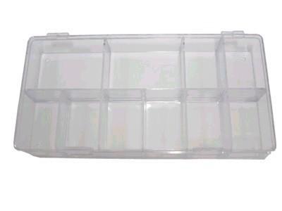 Box na tipy prázdný 100 ks - Nehtové tipy pro nehtovou modeláž Příslušenství k tipům