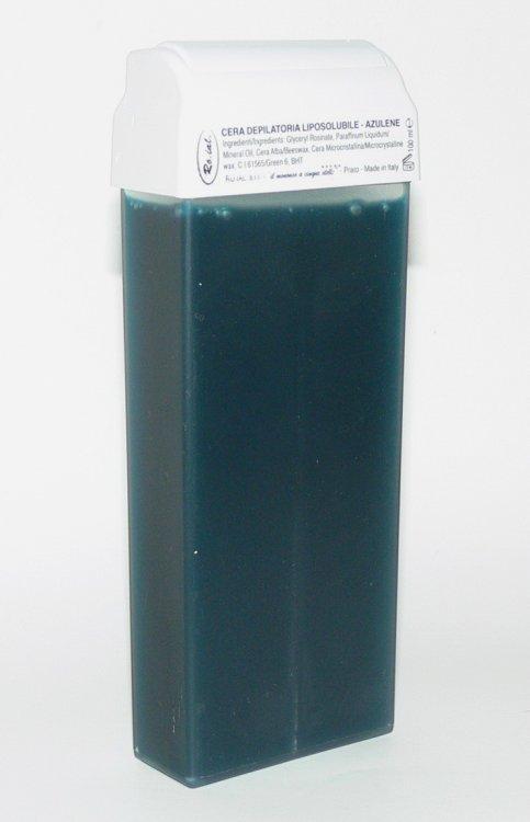Roial Depilační vosk azulénový s hlavicí na tělo 100 ml - Péče o ruce Přípravky na depilaci Depilační vosky