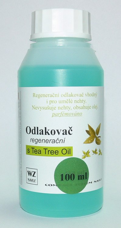Odlakovač na nehty s Tea Tree Oil 100 ml