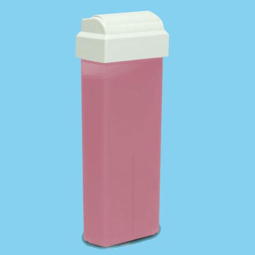Roial Depilační vosk růžový s titan dioxidem s hlavicí na tělo 100 ml - Přípravky na depilaci Depilační vosky