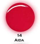 UV gel barevný perleťový Aida 5 ml - Barevné UV gely Perleťové barevné UV gely
