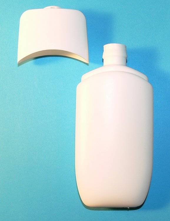 Kosmetická tuba HDPE 100 ml vč. Flip Top uzávěru
